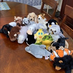 Used Webkinz stuffed animals